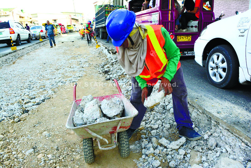 Chasing pavements in Mandaue City