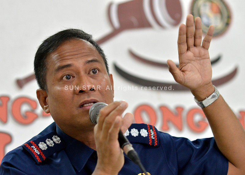 Davao police chief on cocaine bricks recovery