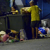Family scavenges from garbage