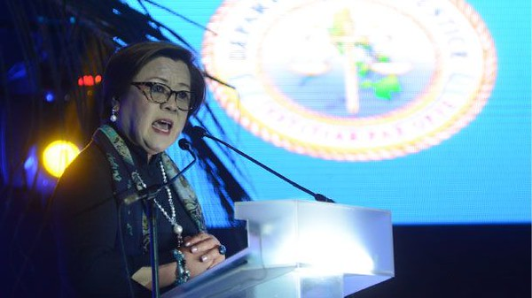 Department of Justice Secretary Leila De Lima