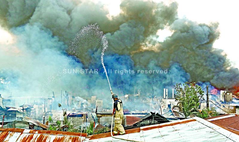 Basak Pardo, Cebu City fire