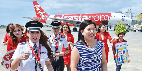 Air Asia Manila-Davao flight