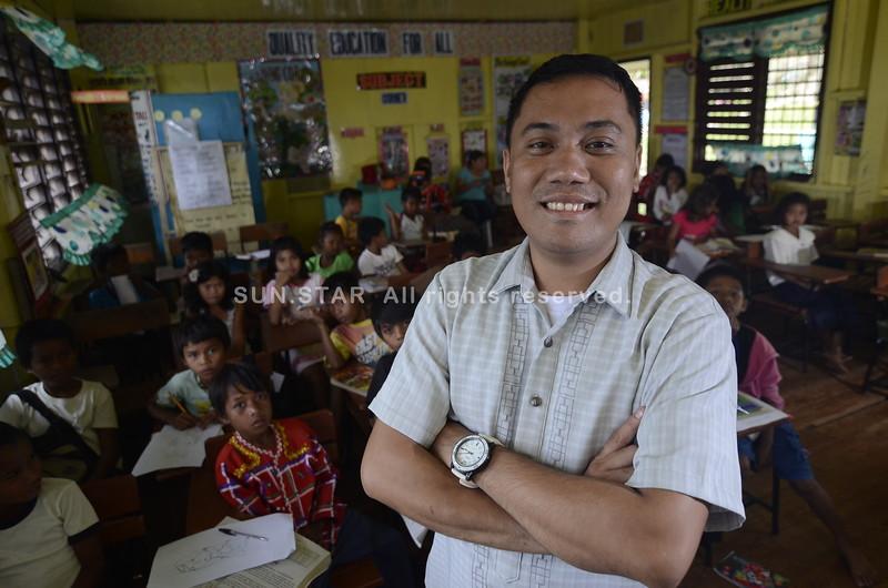 Randy H. Halasan,  Pegalongan Elementary School teacher