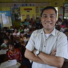 Randy H. Halasan,  Pegalongan Elementary School teacher