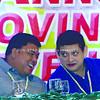 Sen. Teofisto Guingona III & Liga ng mga Barangay Leyte Chapter president Edwin Faller