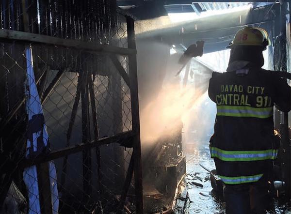 Davao City Bucana fire