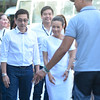Grace Poe attends presidential debate