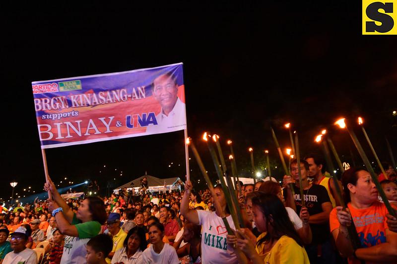 UNA political rally in Cebu City