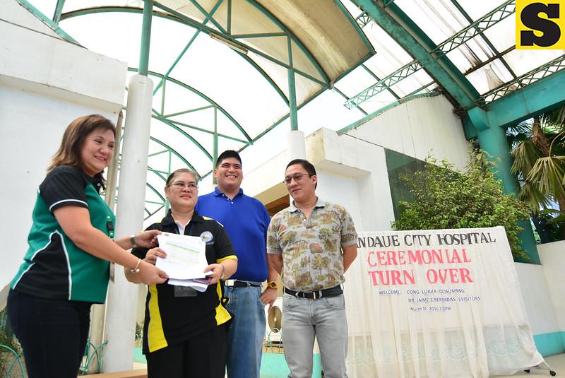 Mandaue City Hospital turnover ceremony
