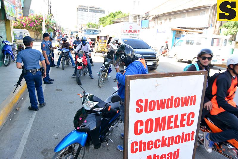 Comelec checkpoint