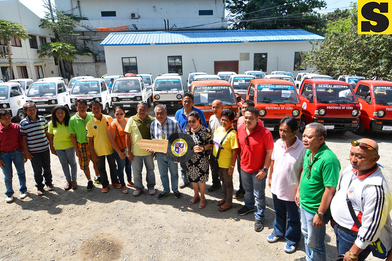 Cebu Provincial Government turns over multi-cabs