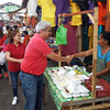 Angeles City Councilor Carmelo Lazatin market visit