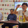 Cebu presidential debate press briefing