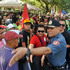 Crowd control for Cebu presidential debate