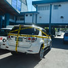 Assistant Cebu City Prosecutor Mary Ann Castro's car