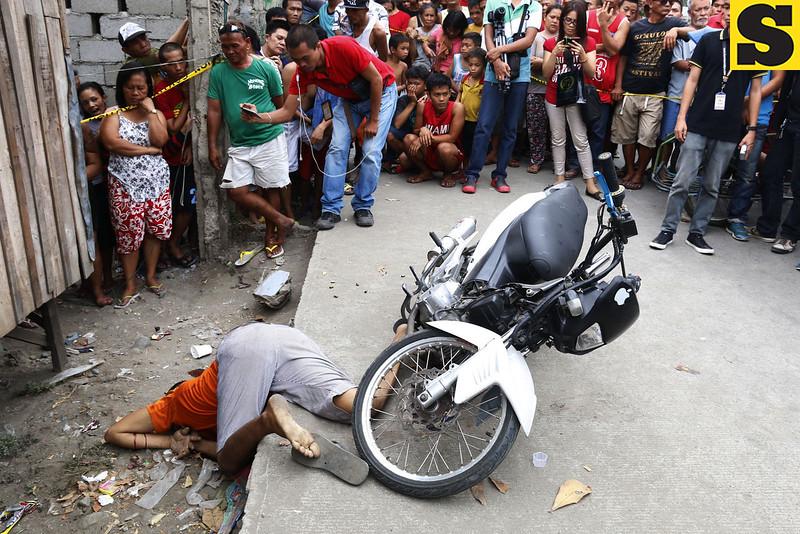 Pio Oclarit, 38, of San Isidro, Lapasan lies dead