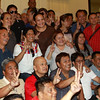 Bongbong Marcos with supporters
