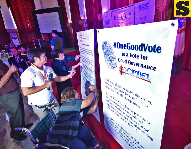 PWDs active role in elections