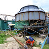 Bantayan Island Power Corporation workers