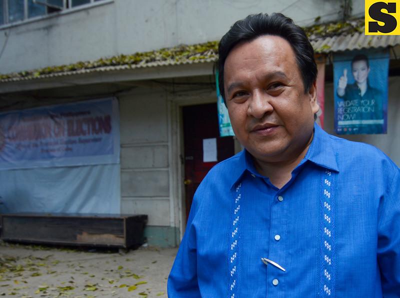 Former Provincial Board Member Victor Maambong