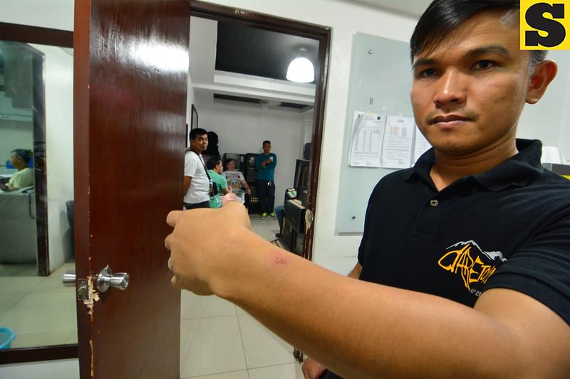Assistant Cebu City Prosecutor Mary Ann Castro gets wild