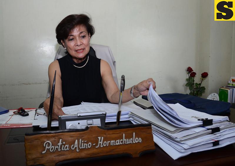 University of Visayas new law dean Portia Aliño-Hormachuelos