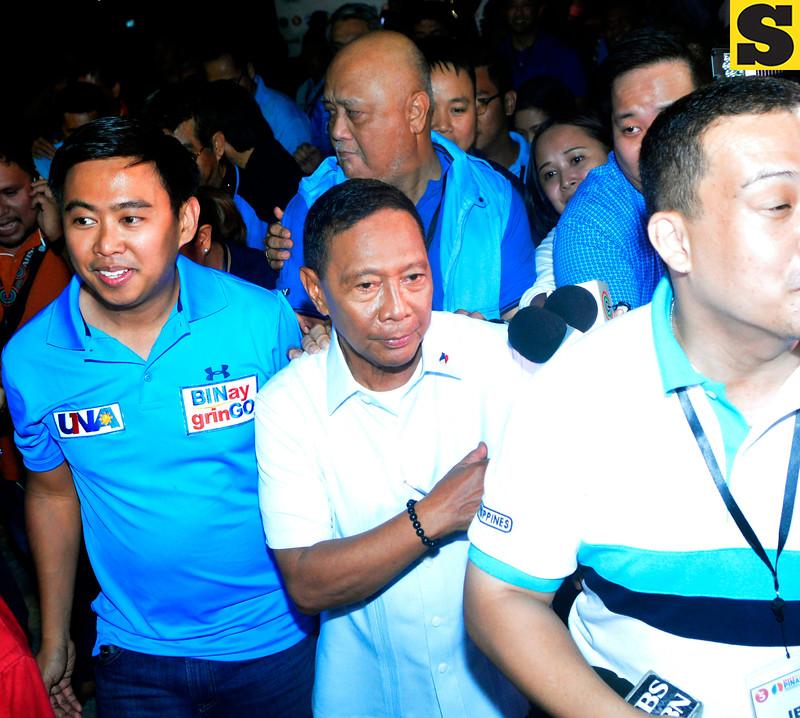 Presidential candidate Jejomar Binay