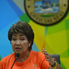 Lapu-Lapu City Mayor Paz Radaza