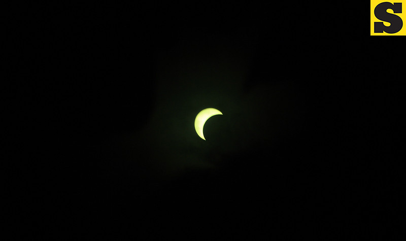 Solar eclipse seen in Cebu City