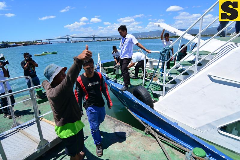 Cebu ferry dry run