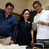 Vice presidential bet Chiz Escudero at Tomas Osmena house