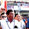 Presidentiable Rodrigo Duterte in Talisay, Cebu