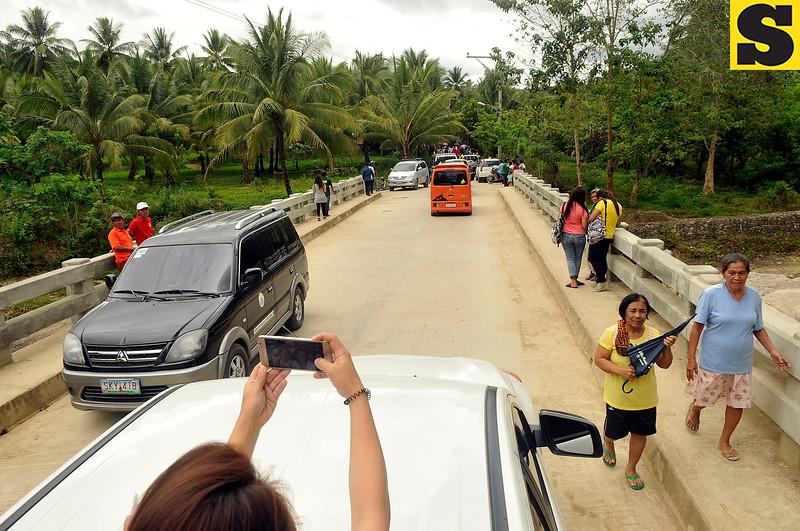P15-million bridge in Sitio Camarin