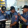 Police in Barangay Kamagayan, Cebu City
