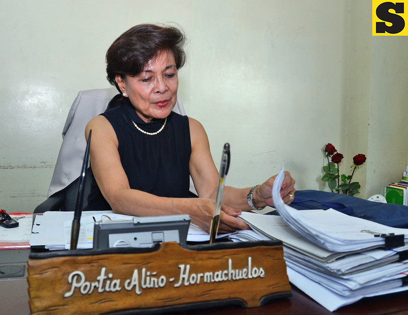 University of Visayas new law dean Portia Aliño-Hormachuelos