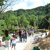 ILOILO. The newly constructed 2.2-kilometer concrete road going to agrarian reform communities (Lydia Pendon)