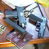 DUMAGUETE. The Philippine National Police seized high-powered firearms from suspected members of an alleged gun syndicate. (Victor L. Camion)