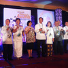 CEBU. The 5th Ramon Aboitiz Foundation Inc. Triennial Awards finalists with some of the members of the Board of Trustees during the awards night Thursday. (Maria Armie Sheila Garde/Sunnex)