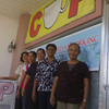 "CAGAYAN DE ORO. Staff members of the Consumers and Users Productive (CUP) association pose with CUP president Arlene Maagad (center) at its office in Bulua, Cagayan de Oro City. Nibocar ""Bon"" Teves, the association's prime mover, consider them as the backbone force of CUP in Northern Mindanao. (Loui S. Maliza)"