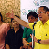 DAVAO. President Benigno Aquino III, in a press briefing Monday, stresses the need to look for other markets amid China's stricter regulations on Philippine bananas and other fruits. (King Rodriguez)
