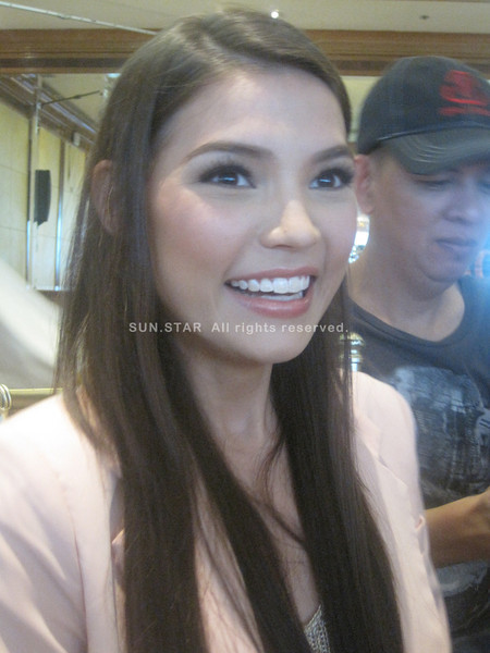 MANILA. Actress Rhian Ramos is set to fly to New York City this June for the GMA Pinoy TV event in the US. (Glaiza Jarloc/Sunnex)