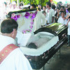 BACOLOD. Dr. Andres Gumban was laid to rest Sunday at the Rolling Hills Memorial Park, Bacolod. (Merlina A. Pedrosa)
