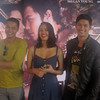 MANILA. Actress Megan Young (center) with leading men Zanjoe Marudo (left) and Edward Mendez (right). (Glaiza Jarloc/Sunnex)