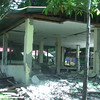DUMAGUETE. One of the two school buildings in Matuog Elementary School in Tayasan, Negros Oriental, was destroyed by the 6.9-magnitude earthquake on February 6, 2012. (Victor L. Camion)