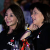 Cebu governor Gwen Garcia and PCL national president Alma Moreno-Salic during the PCL Visayas Island Congress Governor's Night and Opening Ceremony at CICC 10May2012.                                                                                       (SUNSTAR FOTO/ARNI ACLAO)