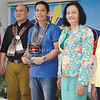 DAVAO. Sun.Star Davao editor Charles R. Maxey represents the company as he receives the plaque of recognition from the Department of Social Welfare and Development (DSWD) citing Sun.Star Davao as the Most Supportive Newspaper during Friday's 62nd Founding Anniversary of DSWD held at their office. (King Rodriguez)