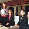 MICE DESTINATION. (From right) Radisson Blu Cebu director of sales and marketing Ann Olalo, SMX Convention Center national sales director Charry Casabar, SMX Davao senior manager Daphne Alosado, DOT-Davao regional chief tourism operations officer for marketing, promotions and planning Eden Josephine David and Park Inn Davao sales manager Thea Dimaano talk to reporters about Davao City's push to be a Mice destination. (Alan Tangcawan)