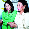 08-08-10<br /> Photo taken-08-07-10      <br /> GOOD GOVERNANCE. Roberto Aboitiz (left), Gov. Gwen Garcia (center) and Provincial Board Member Agnes Magpale join hands in promoting governance in the Province's towns and cities. <br /> (SUN.STAR FOTO/AMPER CAMPAÑA)
