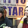 Cebu North District Congressional candidate Annabelle Rama with daughter, Actress Ruffa Gutierrez, in Thursday's Tell it to Sun.Star interview. (Photo by Armie Garde/Sunnex)