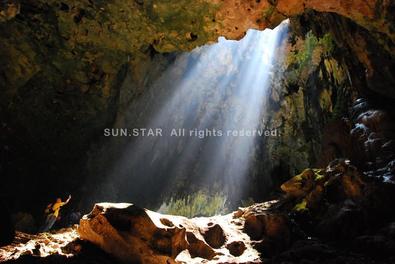 Callao cave light